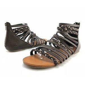 Billabong Sunset Lover Brown Gladiator Sandals
